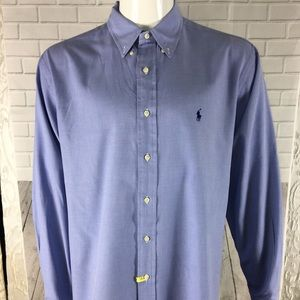 Polo Ralph Lauren Men's 17 1/2 34/35 Button Down